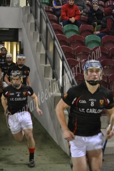 Ian Byrne leads out the IT Carlow
