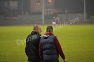 Michael Dempsey and Brian Dunne watch over their team