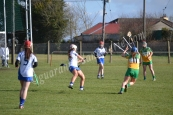Roisin Egan (O) tries to block Iona Heffernan (W)
