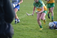 Aisling Brennan keeps her eye on the ball