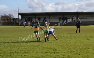 Cailin Fitzgerald and Gillian Irwin attack Waterford