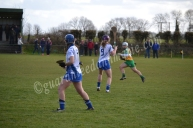 Caoimhe McGrath launches an attack