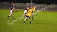 James McMahon (DCU) breaks away from Maurice Sexton (ITC)