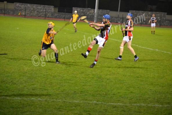 Gary Nolan(ITC)  strikes the ball