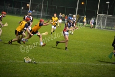 Tommy Gallagher (ITC) throws the ball to strike under pressure
