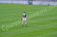 Conor Doughan Offaly watches ahead of a free