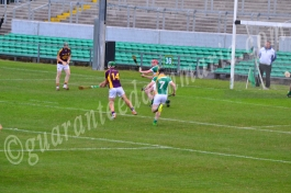 Conor McDonald Wex strikes on goal