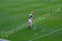 Dylan Murray Offaly lines up for a free