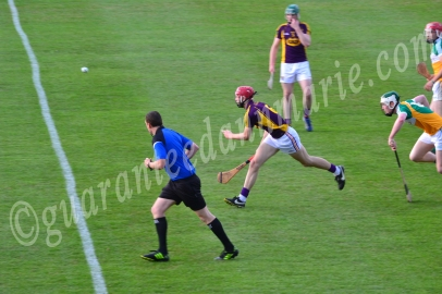 Padraic Foley Wex attacks the bal