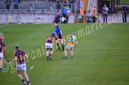 Padraic Guinan Offaly gets a strike in